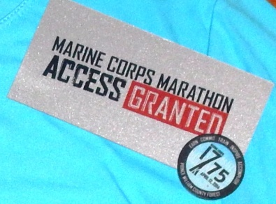 Marine Corps 17.75K access granted finisher's coin