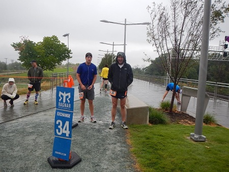Ragnar DC in the pouring rain