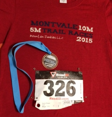 Montvale 5 Miler trail race