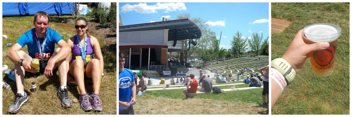 2014 Blue Ridge Marathon Finish