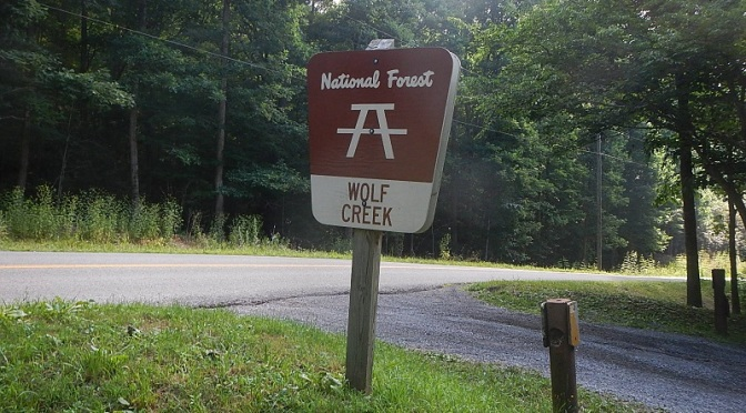 Jefferson National Forest Wolf Creek Day Use Area