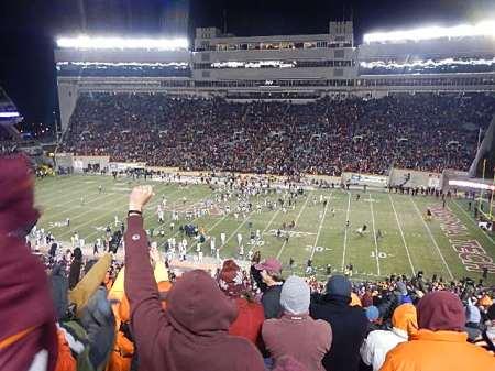 Virginia Tech Football Commonwealth Cup Commonwealth Clash 2014