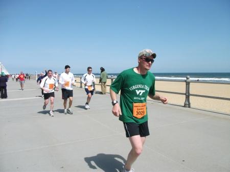 Marathon finish