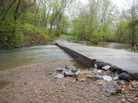 Dora Trail Pulaski Low Water Bridge