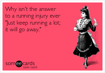 running injury ecard