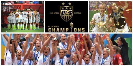 FIFA Women's World Cup USA Champions