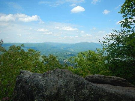 Wilburn Valley overlook Appalachian Trail Pearisburg