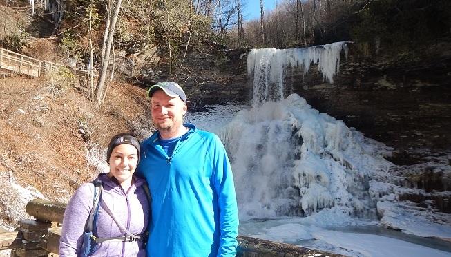 Cascade Trail Trail Running Waterfall