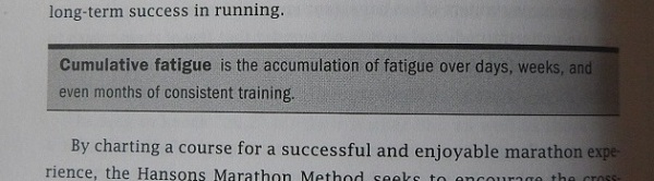 Hansons Marathon Method Cumulative Fatigue