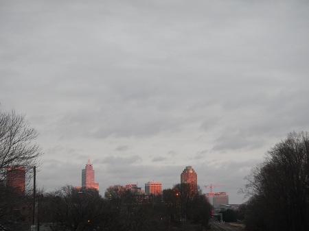Raleigh North Carolina Sunset