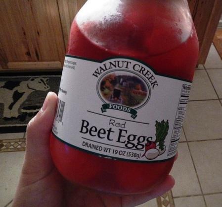 Pickled eggs Red Beet Eggs