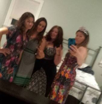Girls beach weekend in Delaware in June. Blurry is a good representation...