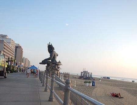 Virginia Beach Boardwalk Neptune