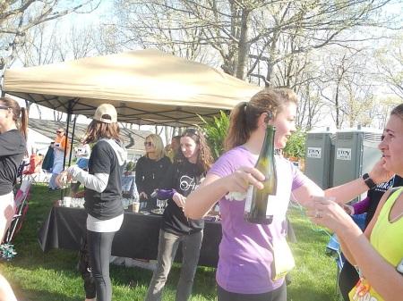 Blue Ridge Half Marathon Peakwood Party