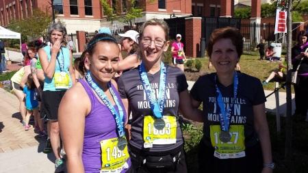 2014 Blue Ridge Half Marathon finish