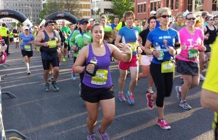 2014 Blue Ridge Half Marathon start