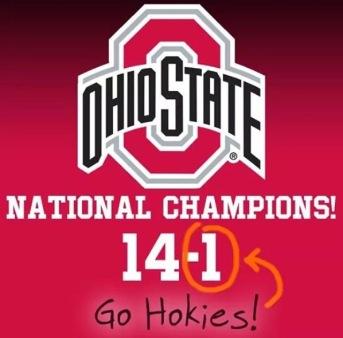Ohio State Go Hokies