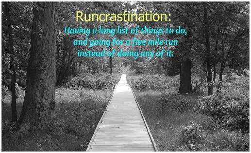 runcrastination