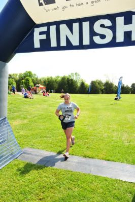 Trail Nut 10K Finish