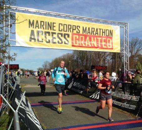 Marine Corps 17.75K finish