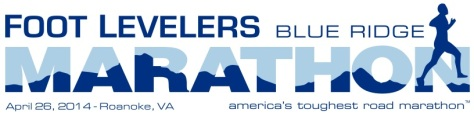 2014 Blue Ridge Marathon Logo