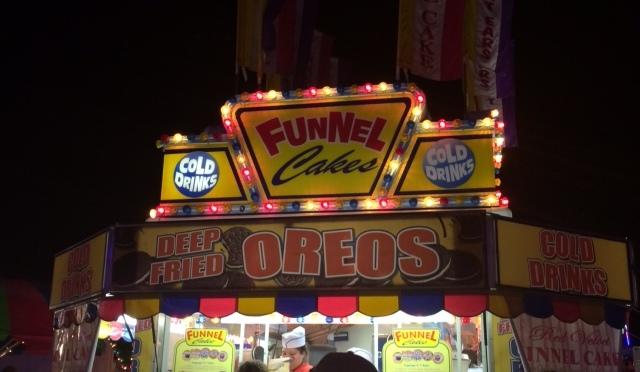 funnel cake fair food