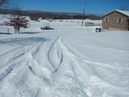 snostorm driveway