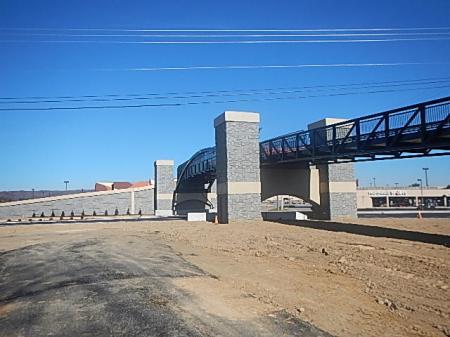 huckleberry trail new bridge