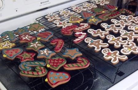 Christmas Cookies Gingerbread Cookies