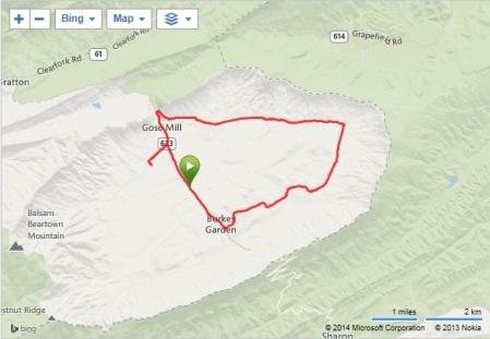 Varmint 1/2 Marathon map