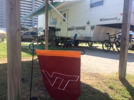 Virginia Tech camping