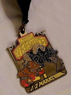 Varmint 1/2 Marahton medal