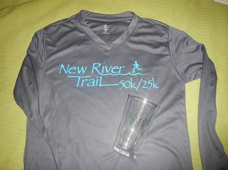 New River Trail 25K