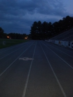 speed work track workout