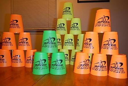 cup stacking speed stacking