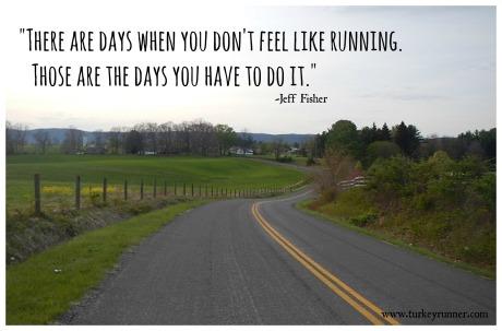 Don't Feel Like Running