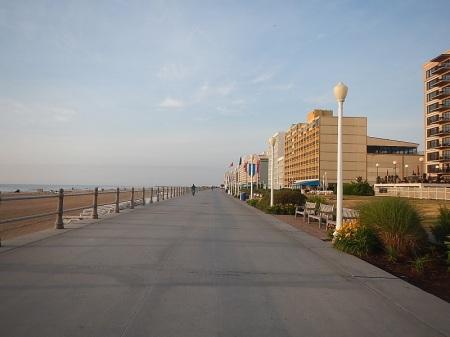 Virginia Beach Boardwalk running
