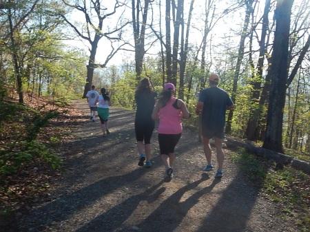 2014 Blue Ridge Half Marathon Mill Mountain