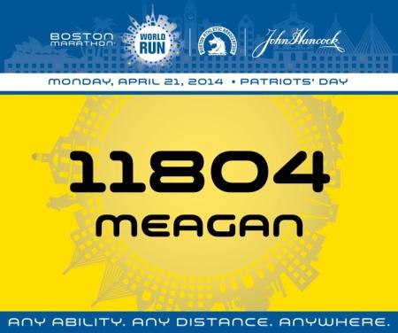 Boston Marathon World Run 2014