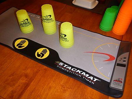 cup stacking speed stacking stack mat
