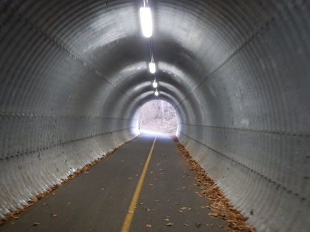running tunnel